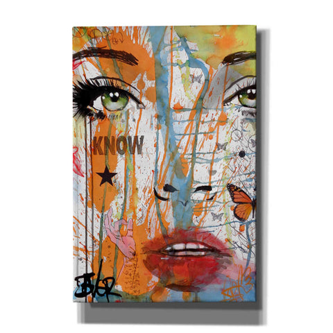 Image of 'Know' by Loui Jover, Canvas Wall Art