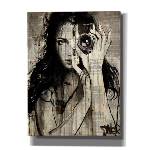 Image of 'Long Shot' by Loui Jover, Giclee Canvas Wall Art