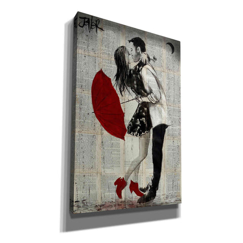 'Never Mnd The Rain' by Loui Jover, Giclee Canvas Wall Art