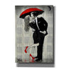'The Kissing Rain' by Loui Jover, Giclee Canvas Wall Art