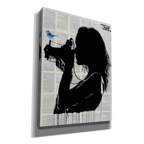 'The Vintage Shooter' by Loui Jover, Giclee Canvas Wall Art
