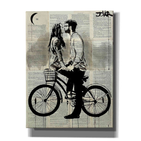 Image of 'Together' by Loui Jover, Giclee Canvas Wall Art
