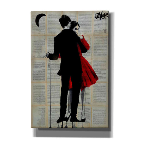 Image of 'True Romance' by Loui Jover, Giclee Canvas Wall Art