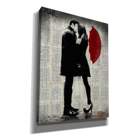 Image of 'Winters Kiss' by Loui Jover, Giclee Canvas Wall Art