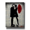 'Winters Kiss' by Loui Jover, Giclee Canvas Wall Art