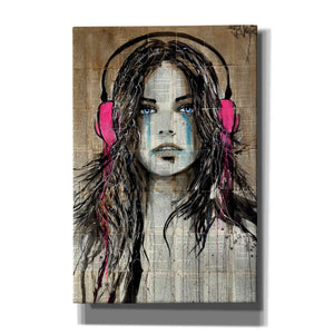 'Wired for Sound' by Loui Jover, Canvas Wall Art