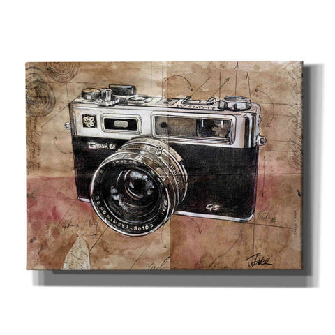 Image of 'Yashica' by Loui Jover, Canvas Wall Art