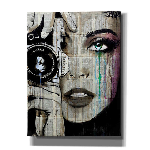 Image of 'Zoom' by Loui Jover, Canvas Wall Art
