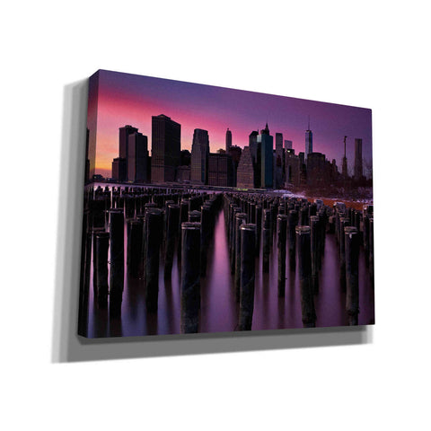 'Manhattan Glow' by Katherine Gendreau, Giclee Canvas Wall Art