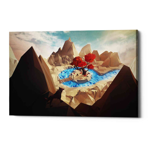 Image of 'Hidden Camp' by Jonathan Lam, Giclee Canvas Wall Art