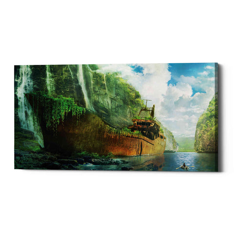 Image of 'Shipwreck' by Jonathan Lam, Giclee Canvas Wall Art