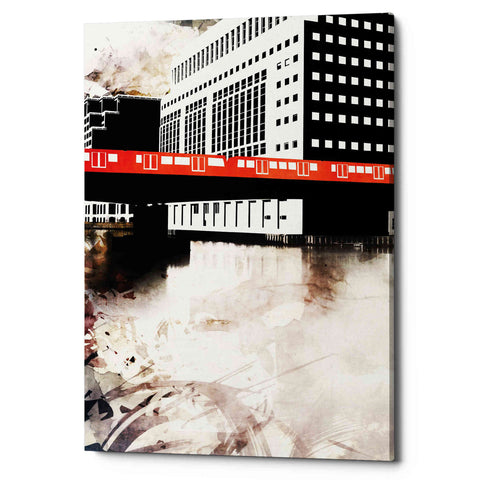 'Transit' by Jonathan Lam, Giclee Canvas Wall Art