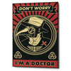 'Doctor' Giclee Canvas Wall Art