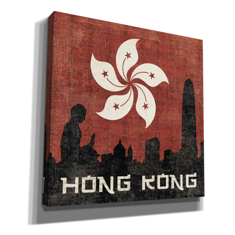Image of 'Hong Kong' by Moira Hershey, Giclee Canvas Wall Art
