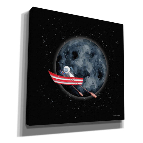 'Sail to the Moon' by Rachel Nieman, Canvas Wall Art,Size 1 Square