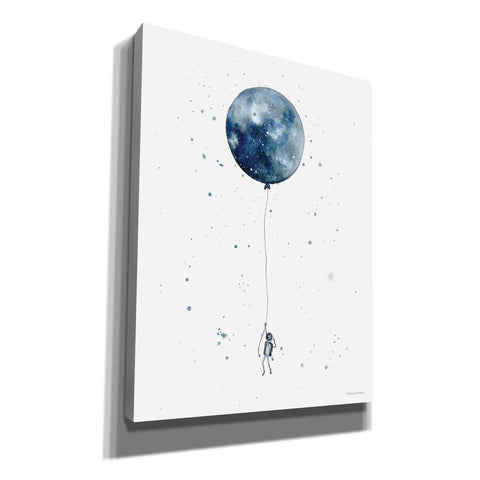 'Moon Balloon' by Rachel Nieman, Giclee Canvas Wall Art