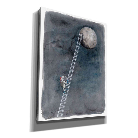 'Ladder to the Moon' by Rachel Nieman, Giclee Canvas Wall Art