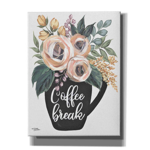 'Coffee Break' by Michele Norman, Canvas Wall Art,Size C Portrait
