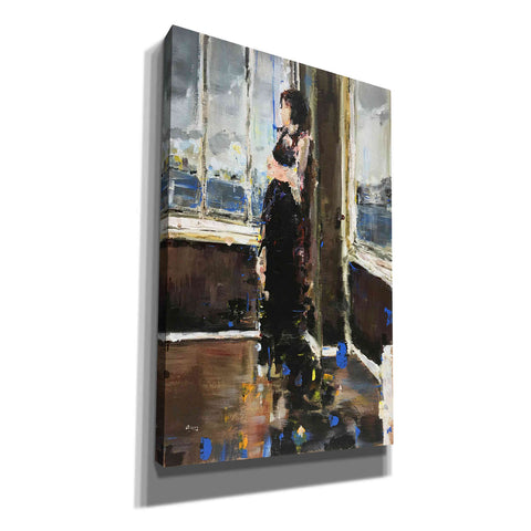 "Image of ""At The Corner"" by Oscar Alvarez Pardo, Giclee Canvas Wall Art"