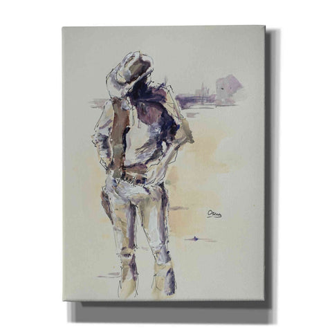 'Sketch' by Oscar Alvarez Pardo, Canvas Wall Art