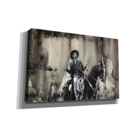 """Wrangle"" by Oscar Alvarez Pardo, Giclee Canvas Wall Art"