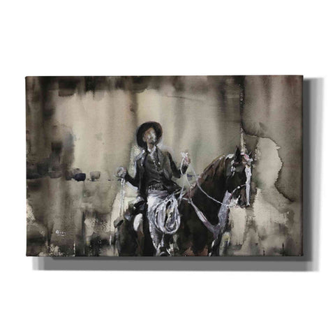 "Image of ""Wrangle"" by Oscar Alvarez Pardo, Giclee Canvas Wall Art"