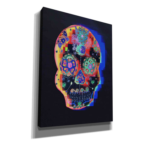 'Colorful Skull' by Irena Orlov, Canvas Wall Art
