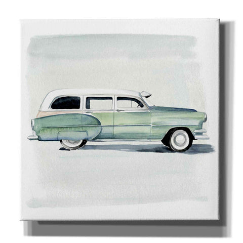 'Classic Autos III' by Jennifer Paxton Giclee Canvas Wall Art