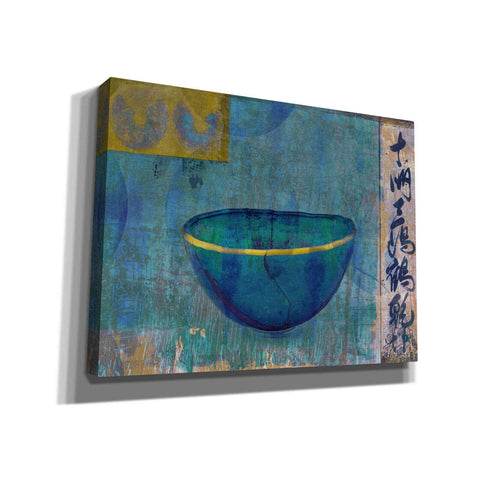 Image of 'Blue Bowl' by Elena Ray Canvas Wall Art
