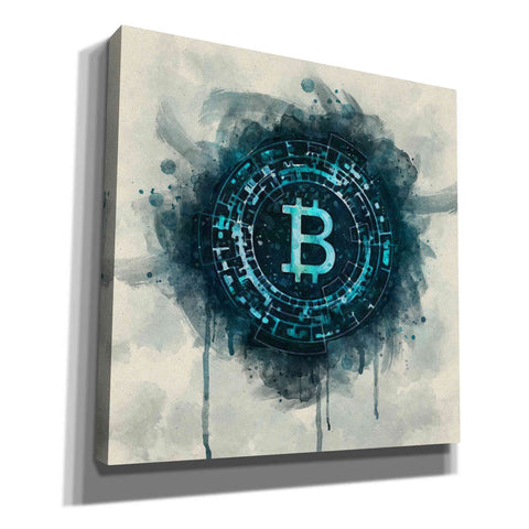'Bitcoin Era' by Surma and Guillen, Giclee Canvas Wall Art