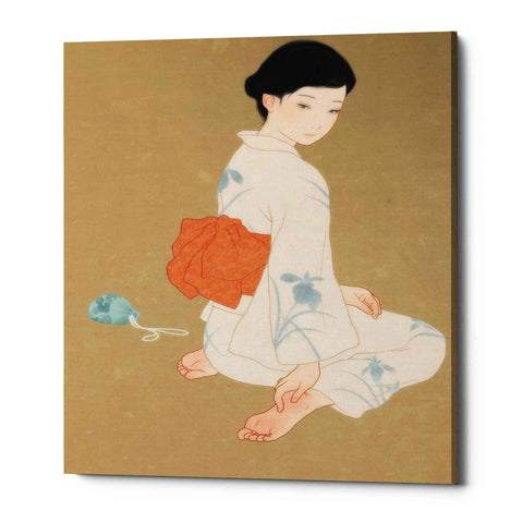 'After The Summer Festival' by Sai Tamiya, Canvas Wall Art