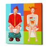 'Boy Meets Girl' by Sai Tamiya, Giclee Canvas Wall Art