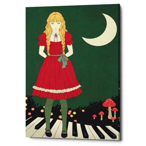 Image of 'Crescent Moon' by Sai Tamiya, Giclee Canvas Wall Art