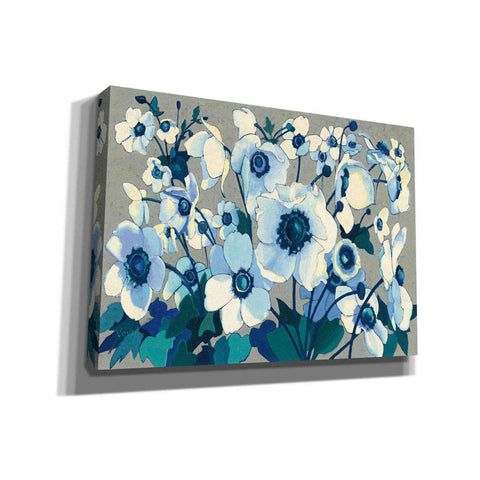 'Anemones Japonaises I' by Shirley Novak, Giclee Canvas Wall Art
