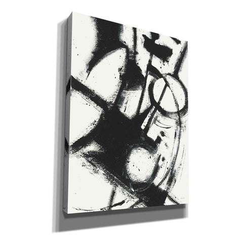 'Expression Abstract II White Crop' by Shirley Novak, Giclee Canvas Wall Art