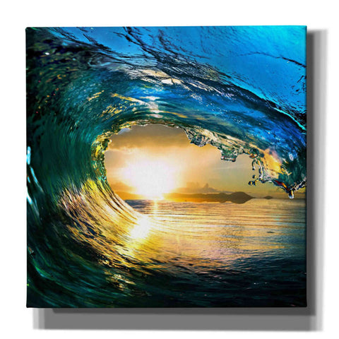 'The Language of Waves' Giclee Canvas Wall Art