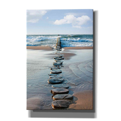 'Stepping Stones' Giclee Canvas Wall Art