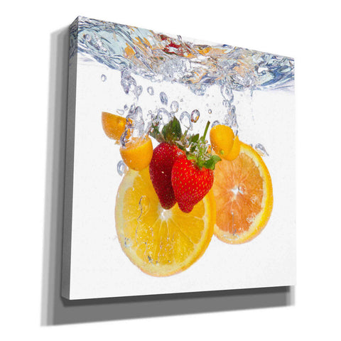 Image of 'Fruit Splash I' Canvas Wall Art