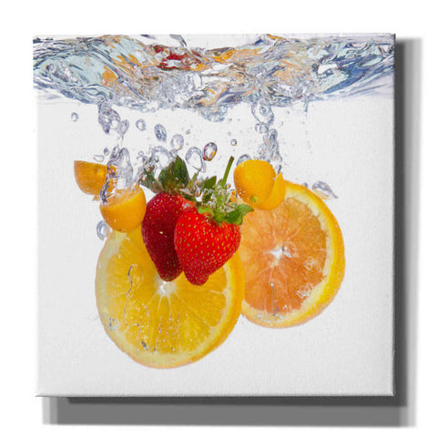 'Fruit Splash I' Canvas Wall Art
