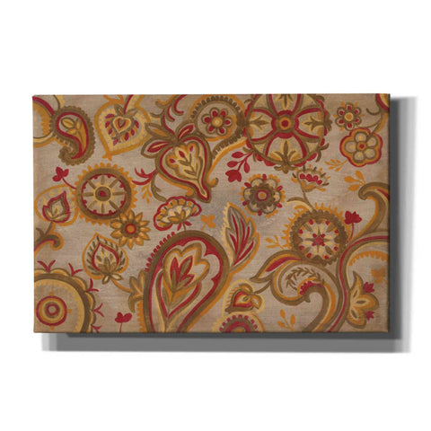 """Linen Paisley"" by Silvia Vassileva, Giclee Canvas Wall Art"