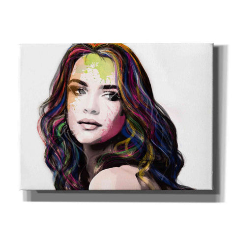 'Girl in Colour' by Karen Smith, Giclee Canvas Wall Art