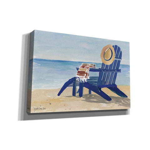 'Beach Chairs 2' by Stellar Design Studio, Giclee Canvas Wall Art