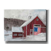 'American Barn' by Stellar Design Studio, Canvas Wall Art,Size B Landscape