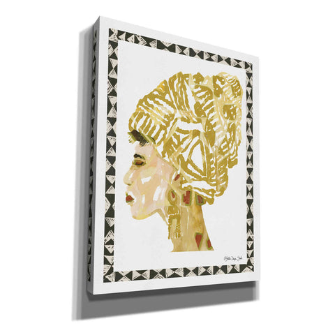 'Side Portrait 2' by Stellar Design Studio, Giclee Canvas Wall Art