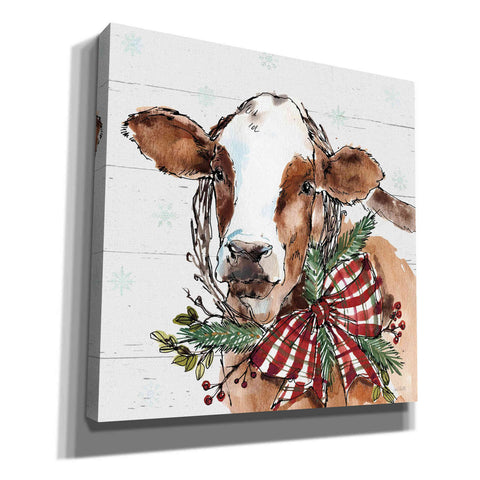 Image of 'Holiday on the Farm VIII' by Anne Tavoletti, Canvas Wall Art