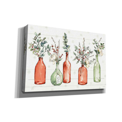 Image of 'Modern Farmhouse I Christmas' by Anne Tavoletti, Canvas Wall Art