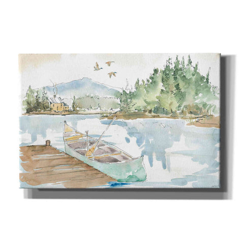 Image of 'Lakehouse I' by Anne Tavoletti, Canvas Wall Art