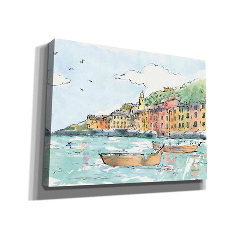 Image of 'Portofino I' by Anne Tavoletti, Canvas Wall Art