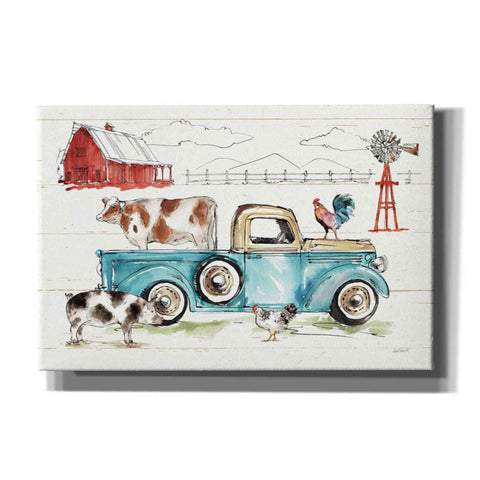 Image of 'Down on the Farm I' by Anne Tavoletti, Canvas Wall Art