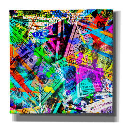 Image of 'Dirty Benjamins' Canvas Wall Art